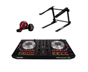 Pioneer DDJ-SB2 with Headphones & Laptop Stand