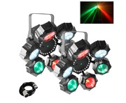 Chauvet Beamer 6 FX (Pair) with Cable