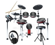 Alesis Crimson Mesh Kit with Drum Stool and Headphones