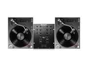 Numark TT250 USB Turntables & Numark M101 USB Black Mixer Package
