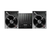 Numark TT250 USB Turntables & Numark M6 USB Black Mixer Package