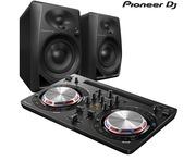 Pioneer DDJ-WeGo 3 Black & Pioneer DM-40 Speaker Package