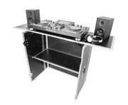 Gorilla DJS Foldable Flight Case DJ Stand Booth