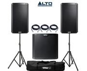 Alto 2x TS212 Speakers & 1x TS215S Subwoofer