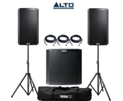 Alto 2x TS210 Speakers & 1x TS212S Sub