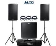 Alto 2x TS210 Speakers & 1x TS215S Sub