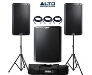 Alto 2x TS212 Speakers & 1x TS218S Sub
