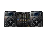 Pioneer XDJ-1000 MK2 and Pioneer DJM850