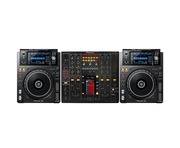 Pioneer XDJ-1000 MK2 and Pioneer DJM2000