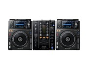 Pioneer DJ XDJ-1000 MK2 and Pioneer DJM-450 Package