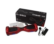 M-Seg Smart Glider Hoverboard Scooter Volcano Red