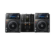 Pioneer DJ XDJ-1000 MK2 & DJM-250 MK2 Mixer Package