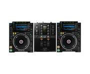 Pioneer CDJ-2000 NXS2 & DJM-250 MK2 Mixer Package