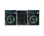 Denon SC5000 &  X1800 Mixer