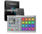 NI Maschine Mikro MK2 White & Komplete 11 UPG Select