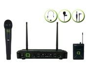 Q-Audio QWM 1932 V2 HH + BP Wireless Microphone System