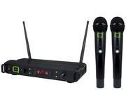 Q-Audio QWM 1940 V2 HH Wireless Microphone System