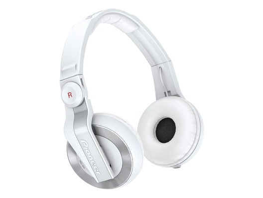 Pioneer HDJ500 Headphones White