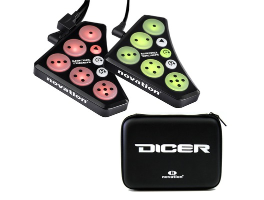Novation Dicer & Carry Case Bundle