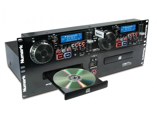 Numark CDN77 USB CD/MP3 Scratch Player