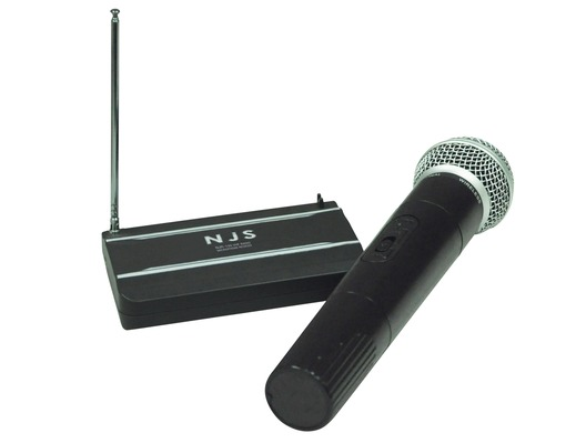 NJS 202 175.0 MHz VHF Handheld Wireless Radio Microphone System