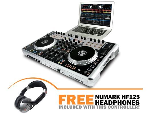 Numark N4 Digital DJ Controller and Mixer