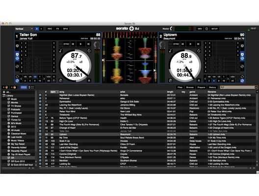 Serato DJ Software Upgrade from Intro