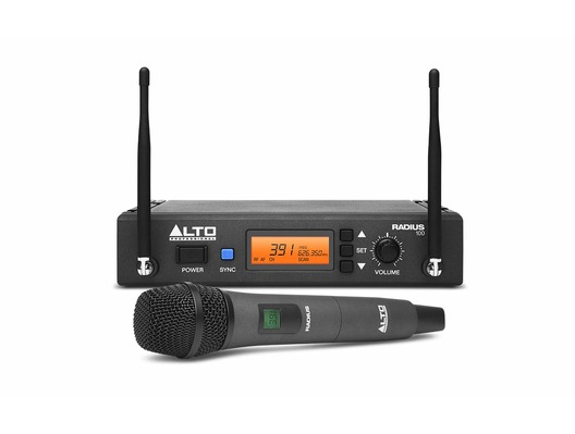 Alto Radius 100 UHF Microphone System